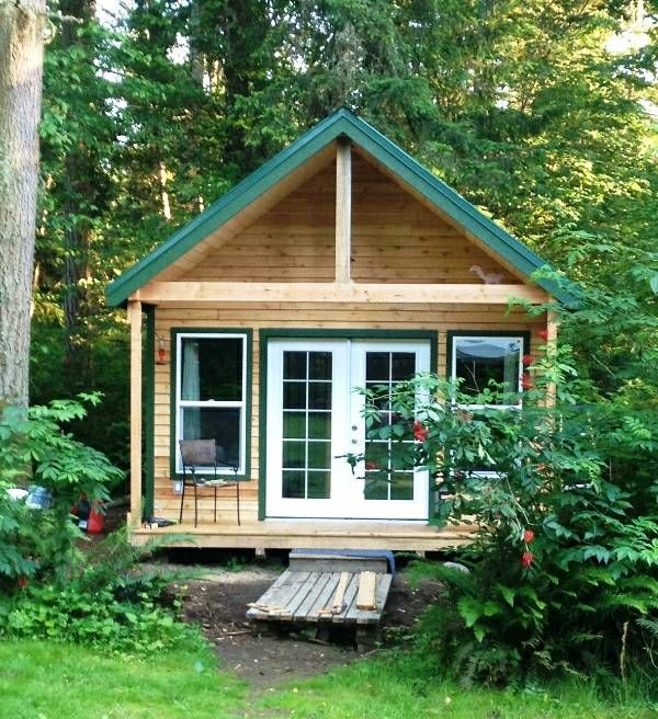 This is a 355 square feet tiny cabin for sale in Graham, Washington. It measures 14.5′ by 24.5′ and is 15′ high. Asking price is $30,000. Please enjoy, learn more, and re-share be…