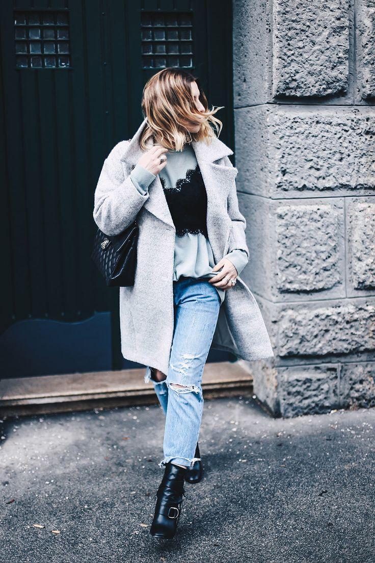 Spitze bitte! Heute findet ihr einen Mix aus elegant und lässig auf meinem Fashion und Style Blog. Ganz nach dem Motto: So downgrade ich mein Spitzenbustier!