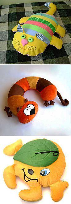 (+1) тема - Подушки-игрушки для вашего малыша | Интерьер и Дизайн