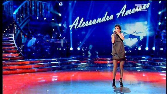 """Alessandra Amoroso at """"Ballando con le stelle"""""""