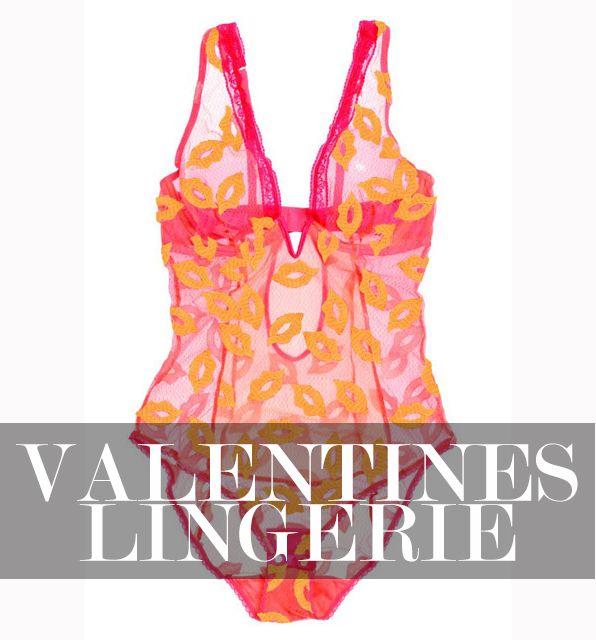 Sexy Lingerie zum Valentinstag 2015 - Der Tag der Liebe rückt immer näher. Doch was zieht man bloß drunter? Wir haben für Sie dieses mal nicht Bra und Höschen sondern Einteiler und Bodys gefunden als sexy Alternative zum Set...