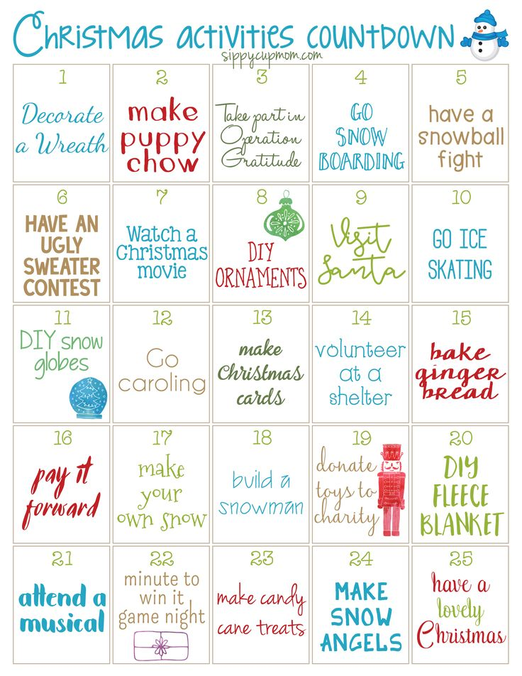 Tomorrow is December 1st! For me, that means the countdown to Christmas is really on! I love spending the month doing fun Christmas activities with my family and I'm sure you do too. That's why I love this free printable 25 Days of Christmas Activities Calendar! Print it and put it up on the fridge …