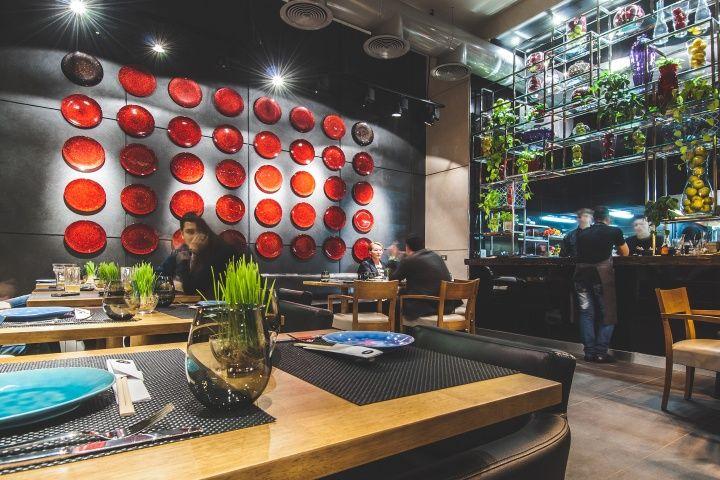 BARBACOA restaurant and bar in Odessa by Dekart Studio