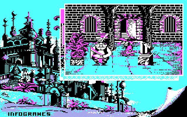 Iznogoud is an old  action adventure game released in 1987 by Infogrames and developed by Infogrames.