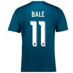 Real Madrid Gareth Bale 11 Alternativní Dres 17-18 Krátký Rukáv