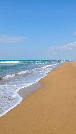Zacharo, a long and exotic beach, Ilia (Peloponnese), Greece