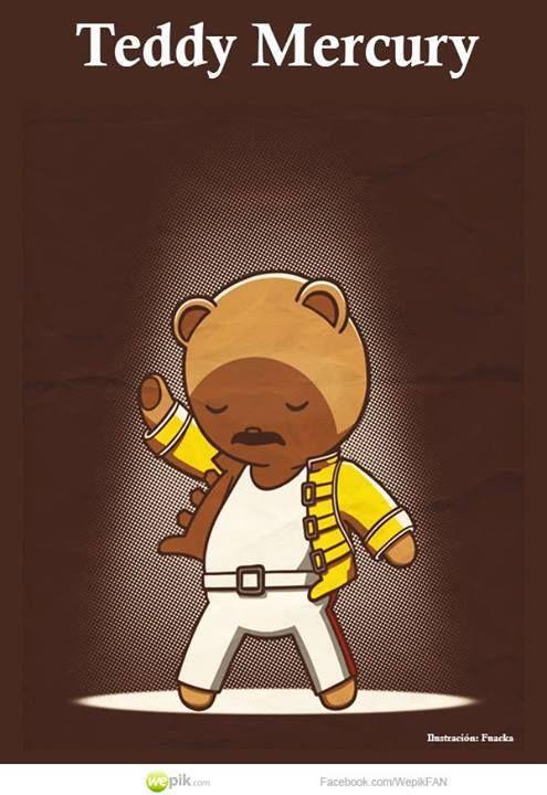 Teddy Mercury - Happy drawings :)