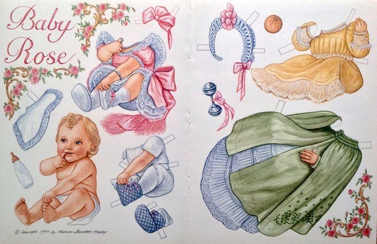Беби бумажные куклы папер долл картинки