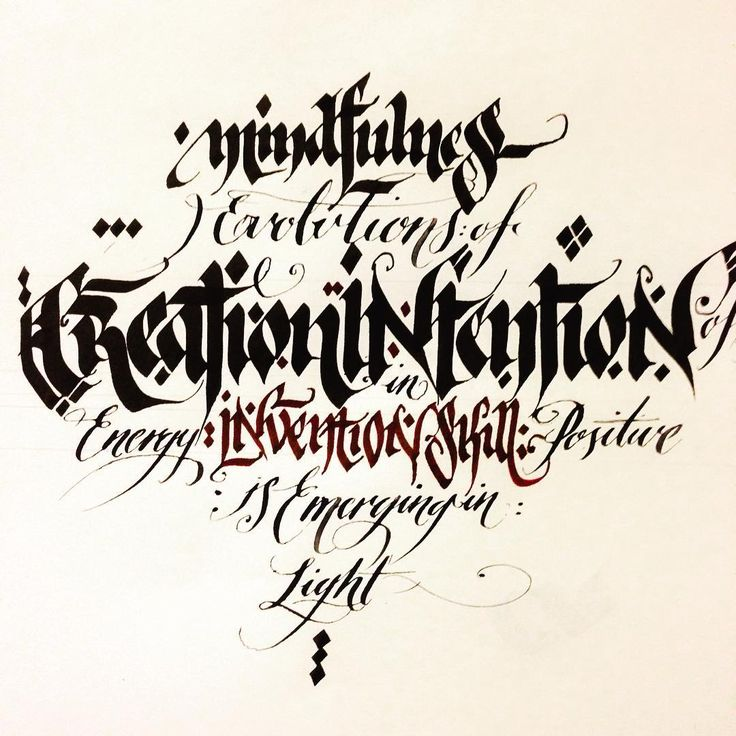 Handlettering Blackletter Copperplate Type Lettering Letters Typespot