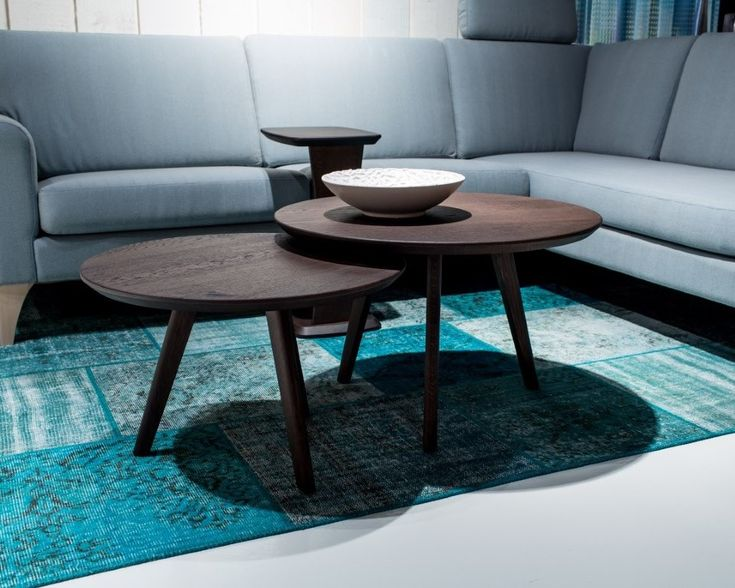 BKS Fjord ronde salontafels           BKS meubelen        Salontafels