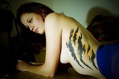 tiger stripe tattoo - Google Search