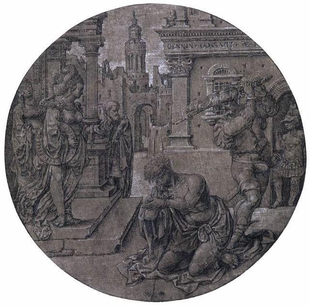 Ο αποκεφαλισμός του Αγίου Ιωάννη του βαπτιστή (1510-15)