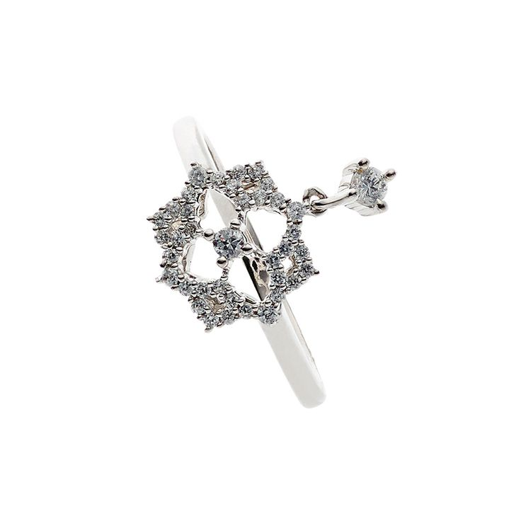 Oxette Sterling Silver 925 Ring with zircons - Available here www.oxette.gr/... #oxette #silver #ring #jewellery