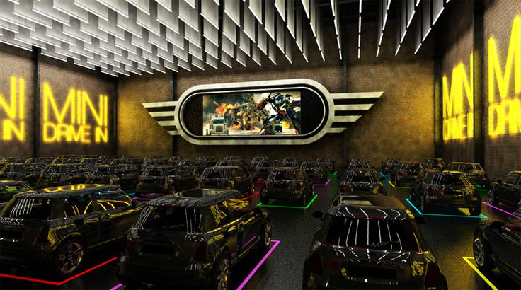 MINI - Access Agency has been busy talking to global brands in every major city. We are setting up to unveil our latest creation for innovative brands -- the indoor drive-in cinema.