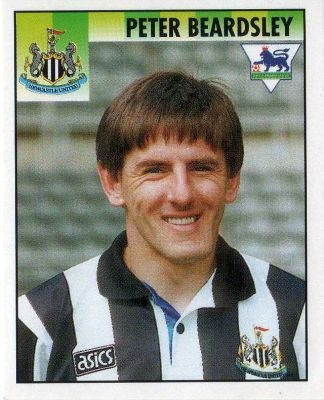 Peter Beardsley Football Sticker, 1994