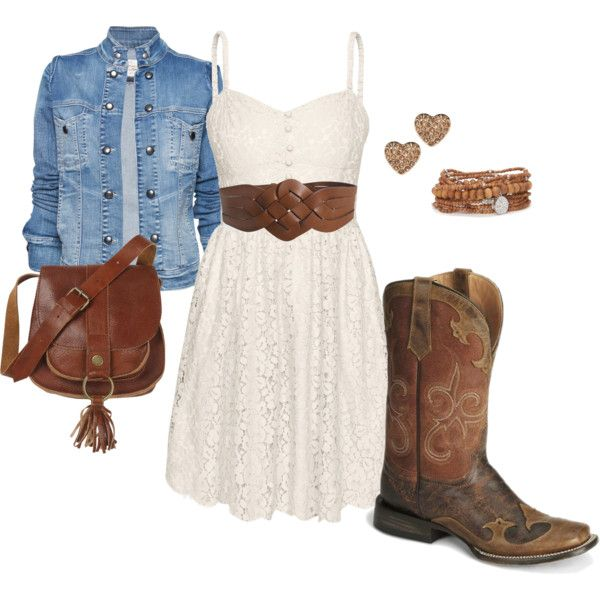 perfect outfit for all the country music fests during summer! - Want to save 50% - 90% on women's fashion? Visit http://www.ilovesavingcash.com