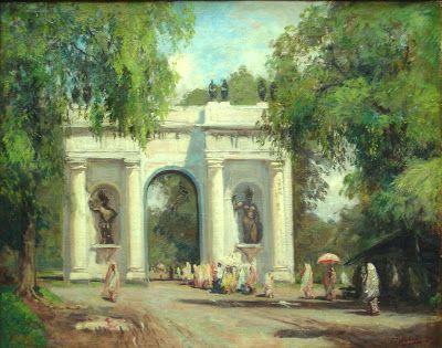 "Carel Lodewijk Dake Jr. ""The Gate Of Batavia"", 1920"