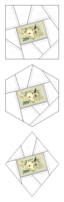 With All Good Wishes for a Happy Birthday crazy quilt block patterns posted on Janet Stauffacher's Nostalgic NeedleART blog in 2012.