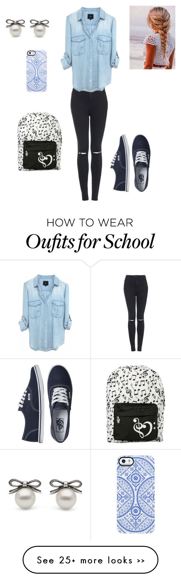 """School"" by macsuzbax on Polyvore"