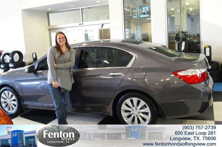 Congratulations to Lani Faughn on your #Honda #Accord Sedan purchase from Stephanie  Rowland at Fenton Honda of Longview! #NewCar