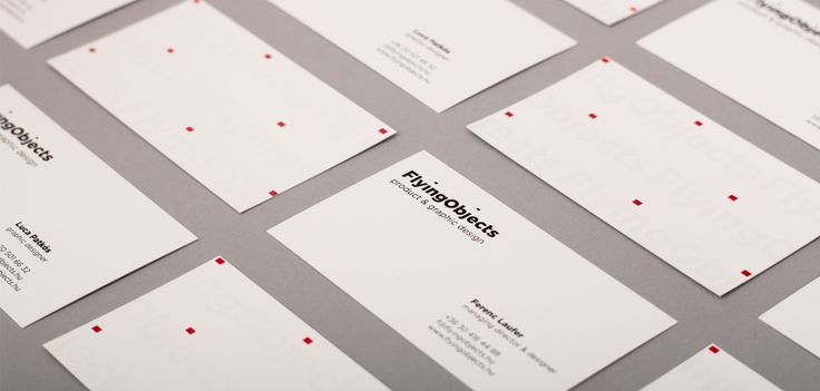 Flying Objects Brand ID on Behance