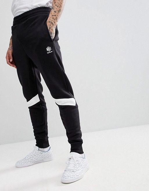 Kauf authentisch begrenzter Stil Vereinigte Staaten Reebok Sweatpants In Slim Fit In Black CD7464 | Home decor ...