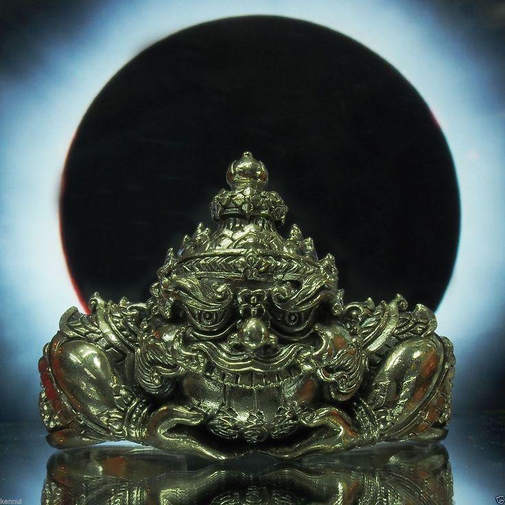 Details About Thai Amulet Phra Rahu Bangle Bracelet Alpaka