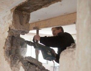 Mauerdurchbruch für Fenster und Türen – tragende Wände beachten