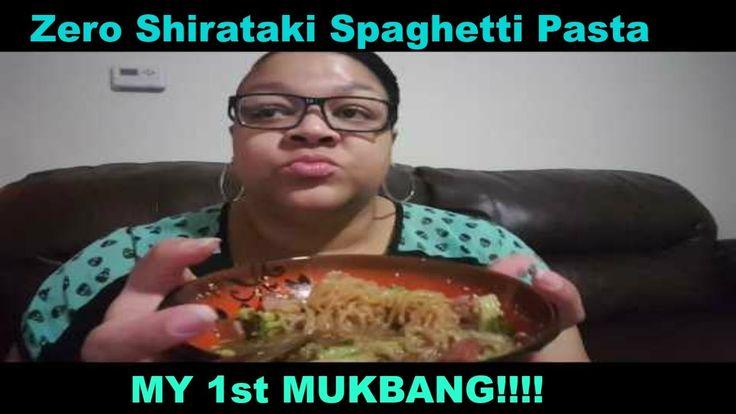 Mukbang 1st impressions: Zero Shirataki Spaghetti Pasta