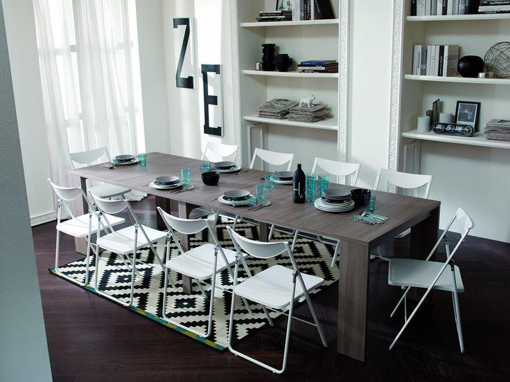 Oltre 25 fantastiche idee su arredamento salvaspazio su pinterest tavolo pieghevole immagine - Arredamento salvaspazio mobili multifunzionali ...