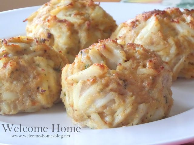 Welcome Home Blog: MY JUMBO LUMP CRAB CAKES