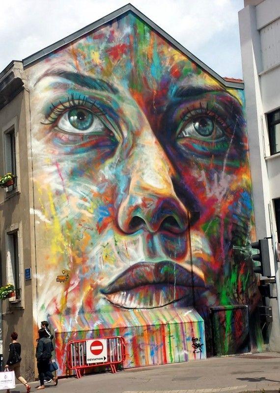 David Walker, Nancy // photo juin 2015 - street-art-avenue                                                                                                                                                                                 Plus