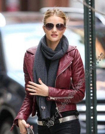 Maroon Leatherette Jacket - Leather Jackets - Now on SALE! (US$69.36) TO US$64.73 #Outerwears - #Clothing #BikerStyle http://celebrityfashionlookbook.com/clothing/outwears/leather-jackets/motorcycle-biker-style-faux-leather-jacket-in-maroon.html