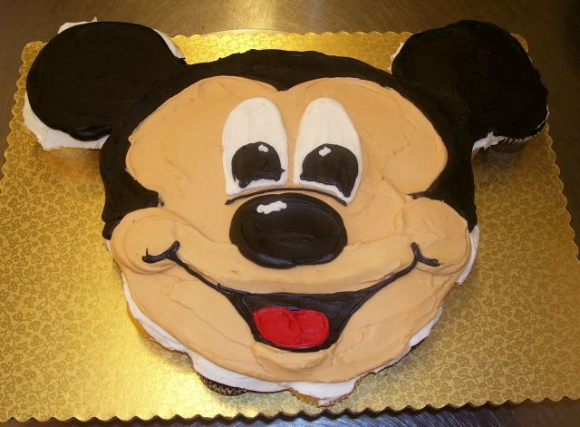 Mice Birthday Cake