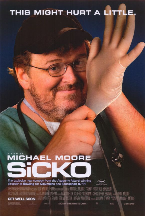 Sicko 11x17 Movie Poster (2007)