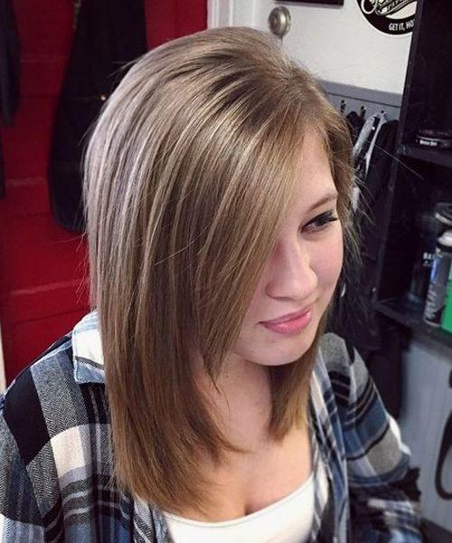teenage girl haircuts
