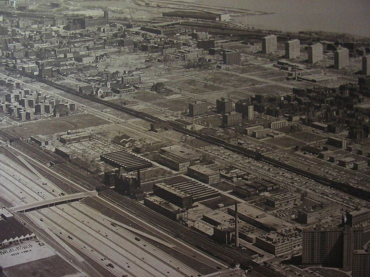 IIT campus 1960's, South side, Chicago
