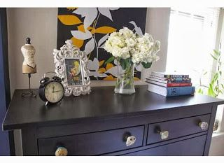 Decor: Bedroom Before/After | Red Lipstick + French Toast