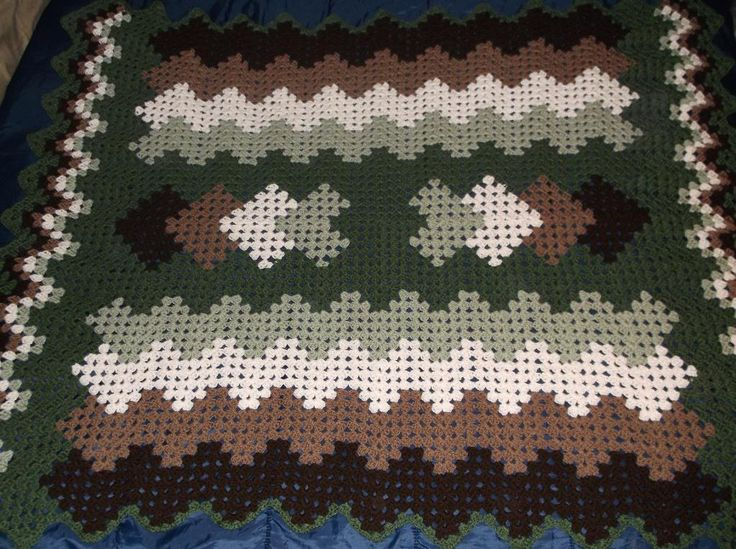 Drop in the Pond Crochet Afghan by ChrisCr... | Crocheting Ideas