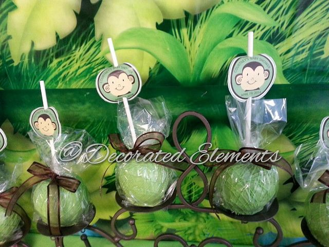 Safari Themed Chocolate Candy Apple Favors | Flickr - Photo Sharing!