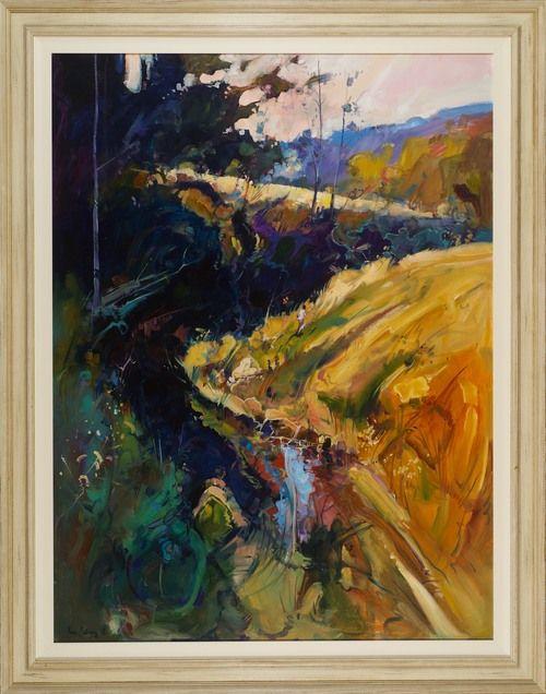 #13528 Ken Strong 'The Perch Hole' 111cm x 142cm