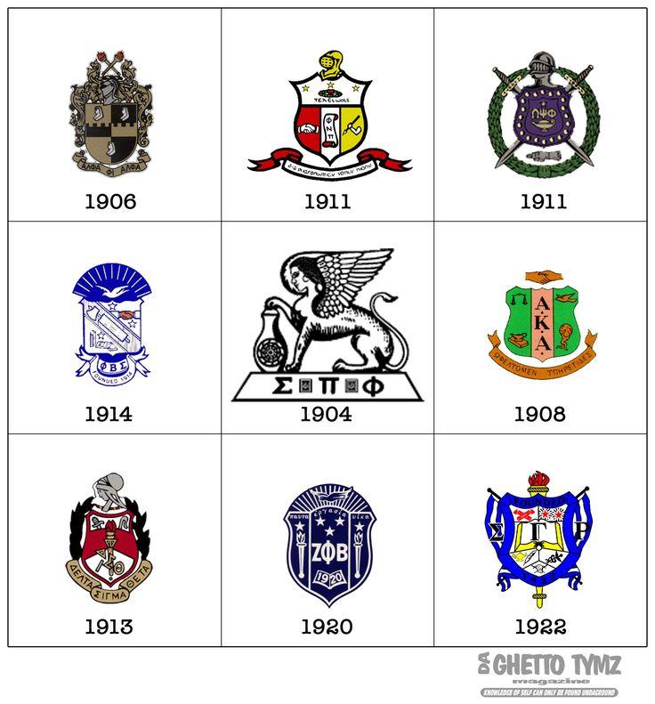 Black Fraternity Symbols Fraternity Sorority Shieldz