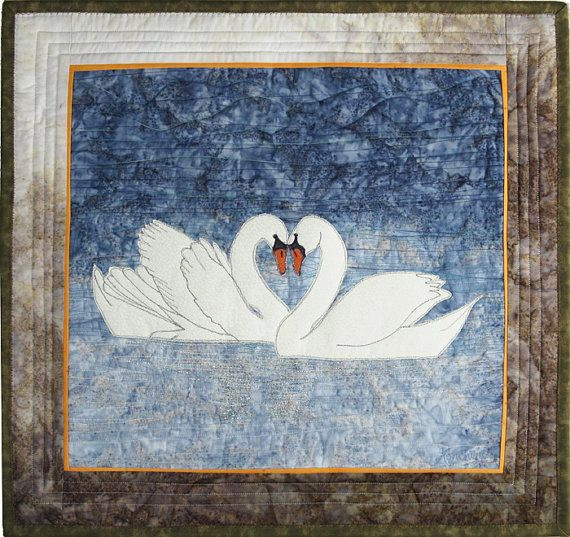 12 Best Images About Quilts Swan Quilts On Pinterest