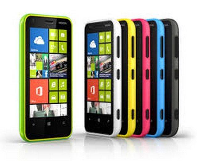 Different color of Nokia lumia