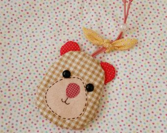 Cute Bear Key Cover, Key Holder, Key Protector
