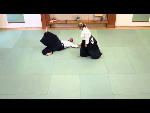 Michelle Feilen Sensei at Aikido of Santa Barbara-4