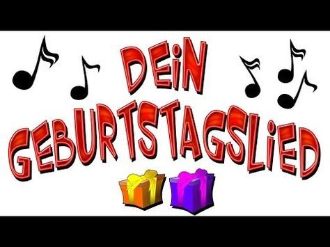 ▶ geburtstagslied lustig deutsch - happy birthday song lustig - YouTube
