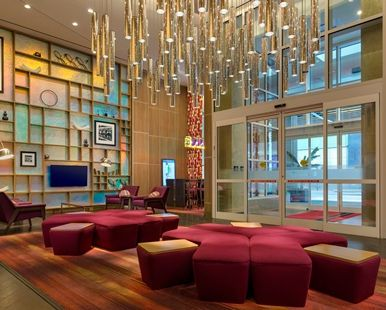 Hampton Inn Manhattan Times Square Central - Lobby