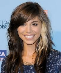 brown hair with one blonde streak - Google Search