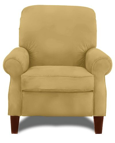 "Woodmont High Leg Recliner By La-Z-Boy Leather ""butter"